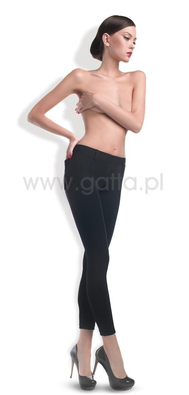 8c6c15a868 Spodnie Gatta Trendy Czarne 44458