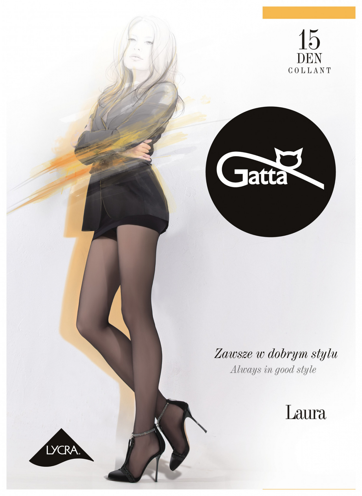 Rajstopy Gatta Laura 15den 1-4 (1)