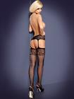 Garter Stockings Obsessive S500 - rajstopy (2)