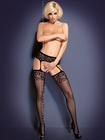 Garter Stockings Obsessive S500 - rajstopy (1)